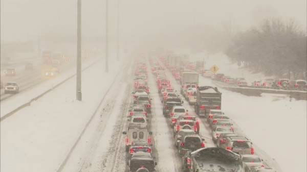 "<div class=""meta image-caption""><div class=""origin-logo origin-image ""><span></span></div><span class=""caption-text"">2014 started under a blanket of snow in Chicago! A winter storm dumped as much as a foot of snow over parts of the city and the suburbs.  (ABC7 Chicago)</span></div>"