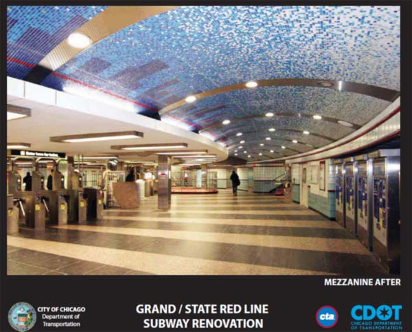 Grand and State Red Line stop <span class=meta>(CDOT)</span>