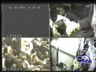 "<div class=""meta ""><span class=""caption-text "">Twenty-one people died and 57 more were injured Feb. 17, 2003, during a panic-driven stampede at the E2 nightclub on the city's South Side.</span></div>"