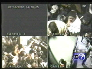 "<div class=""meta image-caption""><div class=""origin-logo origin-image ""><span></span></div><span class=""caption-text"">Twenty-one people died and 57 more were injured Feb. 17, 2003, during a panic-driven stampede at the E2 nightclub on the city's South Side.</span></div>"
