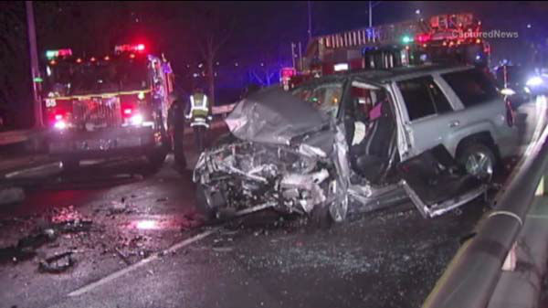 "<div class=""meta image-caption""><div class=""origin-logo origin-image ""><span></span></div><span class=""caption-text"">Two people were killed in an early morning crash on southbound Lake Shore Drive. (WLS Photo)</span></div>"