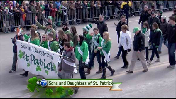 "<div class=""meta image-caption""><div class=""origin-logo origin-image ""><span></span></div><span class=""caption-text"">Chicago St. Patrick's Day traditions drew crowds of people dressed in green downtown on March 15, 2014, for the dyeing of the Chicago River and the St. Patrick?s Day Parade. (WLS Photo)</span></div>"