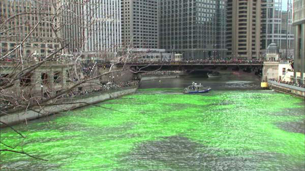"<div class=""meta image-caption""><div class=""origin-logo origin-image ""><span></span></div><span class=""caption-text"">Chicago St. Patrick's Day traditions drew crowds of people dressed in green downtown on March 15, 2014, for the dyeing of the Chicago River and the St. Patrick's Day Parade. (Photo/WLS Photo)</span></div>"