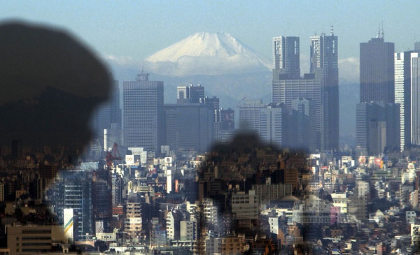 1. Tokyo: Mount Fuji is shown from a Tokyo observation deck in this 2003 file photo. Tokyo is the world&#39;s most expensive city, according to Mercer&#39;s Worldwide Cost of Living Survey 2012. <span class=meta>(AP Photo&#47;Katsumi Kasahara, FILE)</span>