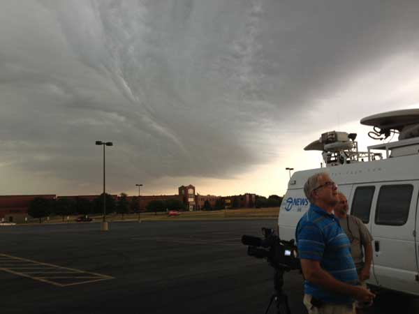 Clouds over Plainfield, Ill. on June 29, 2012  <span class=meta>(ABC7&#39;s Jason Knowles)</span>