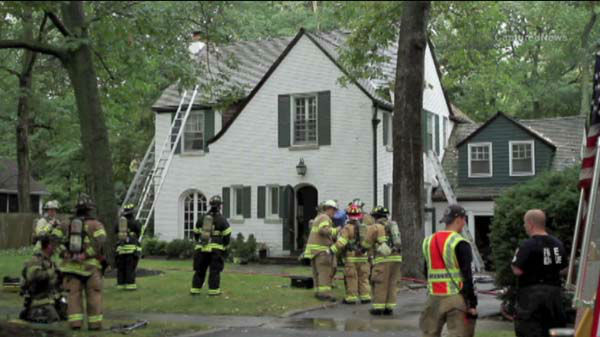 "<div class=""meta image-caption""><div class=""origin-logo origin-image ""><span></span></div><span class=""caption-text"">A lightning strike may have sparked a house fire in north suburban Lake Forest, Ill., on September 19, 2013.  (WLS Photo)</span></div>"