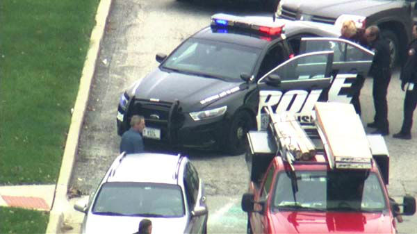 "<div class=""meta image-caption""><div class=""origin-logo origin-image ""><span></span></div><span class=""caption-text"">A woman was taken into police custody after car chase involving several squad cars through Chicago?s northwest suburbs.  (WLS Photo)</span></div>"