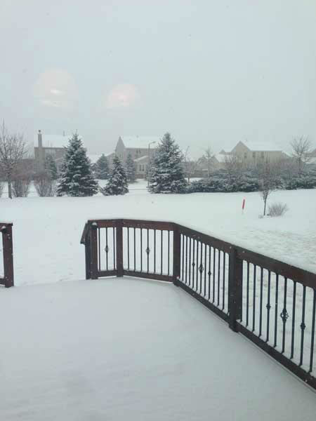 Submitted by an ABC 7 viewer from Yorkville. Send your snow photos to USeeIt@abc7chicago.com