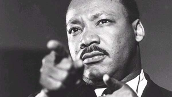 The Rev. Martin Luther King Jr., is seen in this undated file photo.  (AP)