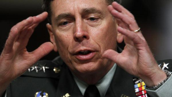 Gen. David Petraeus testifies on Capitol Hill in Wash