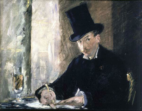 "<div class=""meta ""><span class=""caption-text "">FILE - This undated file photograph released by the Isabella Stewart Gardner Museum shows the painting ""Chez Tortoni,"" by Manet, one of more than a dozen works of art stolen in the early hours of March 18, 1990. The FBI said Monday, March 18, 2013, it believes they know the identities of the  thieves, belonging to a criminal organization based in New England the mid-Atlantic states. (AP Photo/Isabella Stewart Gardner Museum, File)  NO SALES (AP Photo/ Anonymous)</span></div>"