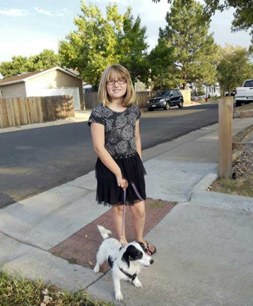 This image provided by the Westminster Colorado Police Department shows Jessica Ridgeway. Authorities looking for the 10-year-old Colorado girl who disappeared days ago after leaving for school are planning to finish scouring open fields and resume searching the fifth-grader&#39;s suburban Denver neighborhood on Tuesday, Oct. 9, 2012.  <span class=meta>(AP Photo&#47;Westminster Colorado Police Department)</span>