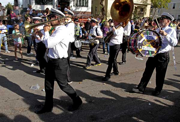 "<div class=""meta image-caption""><div class=""origin-logo origin-image ""><span></span></div><span class=""caption-text"">The Mardi Gras ""Krewe of Tucks"" parade drives through the streets of New Orleans, Monday, Feb. 20, 2012. It may be just another Monday anywhere else, but in New Orleans it's Lundi Gras the day before the Carnival season culminates on Fat Tuesday.  (AP Photo/Bill Haber)</span></div>"