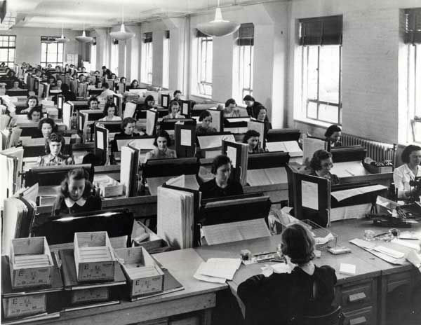In this photo provided by the U.S. Census Bureau, tabulators in Washington record the information from the more than 120,000 enumerators who gathered data for the 1940 U.S. Census. Veiled in secrecy for 72 years because of privacy protections, the 1940 U.S. Census is the first historical federal decennial survey to be made available on the Internet initially rather than on microfilm. &#40;AP Photo&#47;National Archives and Records Administration&#41; <span class=meta>(AP Photo)</span>
