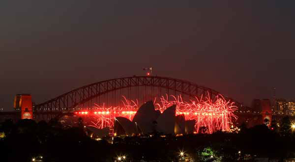 Fireworks explode around the Opera House during the pre New Years Eve celebrations in Sydney, Australia, Monday, Dec. 31, 2012.&#40;AP Photo&#47;Rob Griffith&#41; <span class=meta>(AP Photo&#47; Rob Griffith)</span>