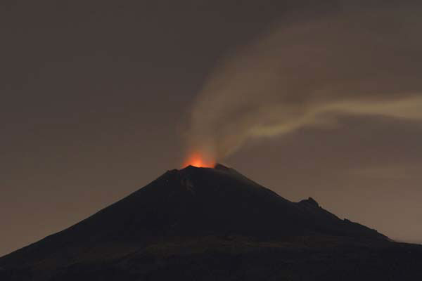 "<div class=""meta ""><span class=""caption-text "">Popocatepetl volcano spews lava, ash and steam during an eruption seen from from Santiago Xalitzintla, Mexico, late Sunday, July 7, 2013. Mexico's National Center for Disaster Prevention reported there had been three explosive eruptions at the peak late Friday and early Saturday - events that usually toss glowing-hot rock on the volcano's flanks. It said that Popocatepetl has also continuously spewed clouds of ash into the air, most of which was headed northwest, toward Mexico City. (AP Photo/Marco Ugarte) (AP Photo/ Marco Ugarte)</span></div>"