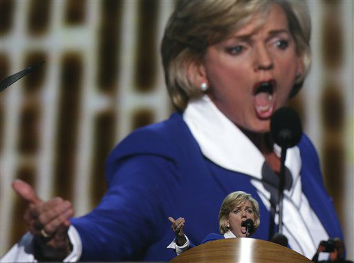 Former Michigan Gov. Jennifer Granholm addresses the Democratic National Convention in Charlotte, N.C., on Thursday, Sept. 6, 2012. &#40;AP Photo&#47;Charles Dharapak&#41; <span class=meta>(AP Photo&#47; Charles Dharapak)</span>