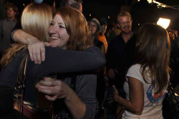 "<div class=""meta image-caption""><div class=""origin-logo origin-image ""><span></span></div><span class=""caption-text"">People attending an Amendment 64 watch party in a bar hug after a local television station announced the marijuana amendment's passage, in Denver, Colo., Tuesday, Nov. 6, 2012. The amendment would make it legal in Colorado for individuals to possess and for businesses to sell marijuana for recreational use. (AP Photo/Brennan Linsley) (AP Photo/ Brennan Linsley)</span></div>"