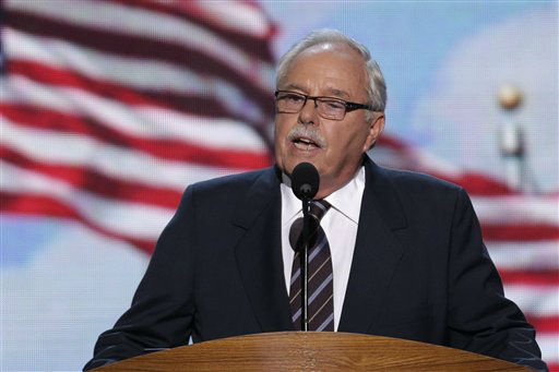 Costco co-founder and former CEO Jim Sinegal addresses the Democratic National Convention in Charlotte, N.C., on Wednesday, Sept. 5, 2012. &#40;AP Photo&#47;J. Scott Applewhite&#41; <span class=meta>(AP Photo&#47; J. Scott Applewhite)</span>