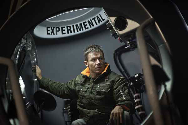 This image provided by Red Bull Stratos shows pilot Felix Baumgartner of Austria sitting in his capsule in preparation for the final manned flight of Red Bull Stratos in Roswell, N.M., Tuesday Oct. 9, 2012. Extreme athlete and skydiver Baumgartner canceled his planned death-defying 23-mile free fall on Tuesday because of high winds, the second time this week he was forced to postpone his quest to be the first supersonic skydiver. &#40;AP Photo&#47;Red Bull Stratos&#41; <span class=meta>(AP Photo&#47; HOP SEP**NY**)</span>