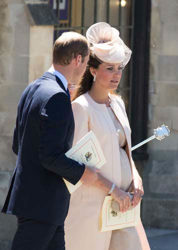 Prince William &amp; The Duchess of Cambridge seen at a celebratory service for the 60th anniversary of the Queen&#39;s Coronation at Westminster Abby in London on Tuesday, June 04, 2013. &#40;Photo by Ki Price&#47;Invision&#47;AP&#41; <span class=meta>(AP Photo&#47; Ki Price)</span>