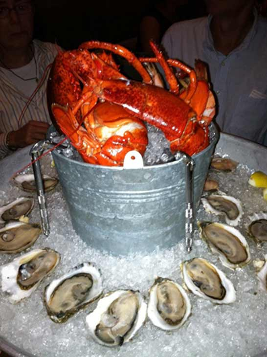A lobster dish can be seen here from the Boston restaurant Island Creek Oyster Bar. This restaurant was announced by TripAdvisor to be the eighth most preferred restaurant in the country.  <span class=meta>(TripAdvisor)</span>