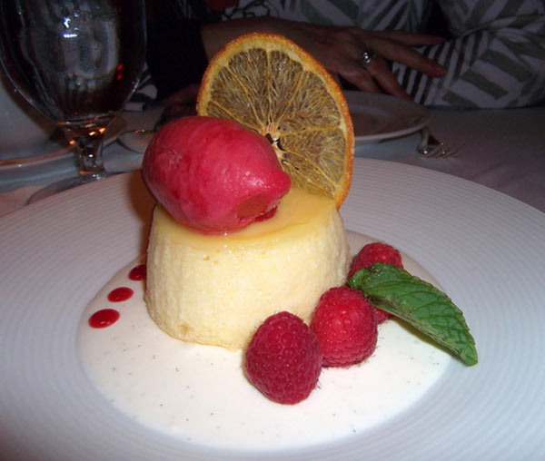 A small dish can be seen here from the San Francisco restaurant called Restaurant Gary Danko. This restaurant was announced by TripAdvisor to be the second favorite restaurant in the country by travelers. <span class=meta>(TripAdvisor)</span>