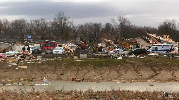 "<div class=""meta ""><span class=""caption-text "">A residential area in Harrisburg, Ill. is damaged after a storm passed, Wednesday, Feb. 29, 2012. (AP)</span></div>"