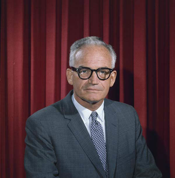 Republican presidential candidate Barry Goldwater is seen, 1965. &#40;AP Photo&#41; <span class=meta>(AP Photo&#47; Anonymous)</span>