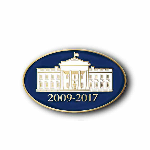 """Add some style to your wardrobe with a 57th Presidential Inauguration lapel pin."" The Presidential Inaugural Committee launched its online store to sell souvenirs.  Online store: http://store.2013pic.org"