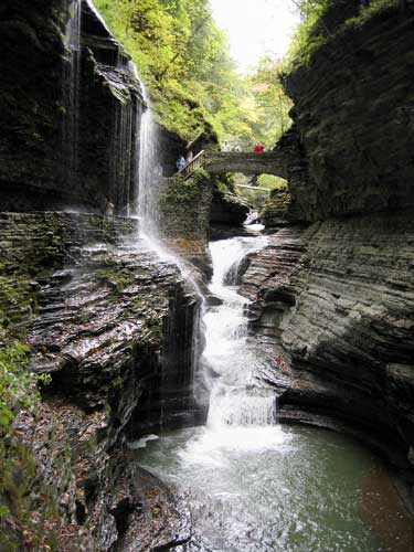 "<div class=""meta image-caption""><div class=""origin-logo origin-image ""><span></span></div><span class=""caption-text"">Ranked No. 1. Ithaca, New York: Waterfall along the gorge in Watkins Glen State Park near Ithaca, New York. [FILE?2006] (AP Photo/Ann Levin)</span></div>"