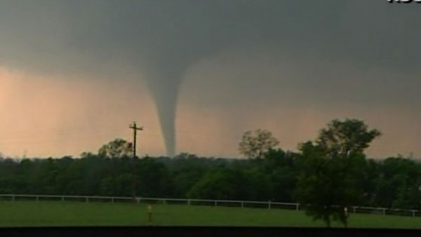 A tornado is shown on Monday, May 20, 2013.  <span class=meta>(WLS Photo)</span>