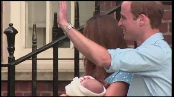 "<div class=""meta image-caption""><div class=""origin-logo origin-image ""><span></span></div><span class=""caption-text"">Royal Baby: First baby photos of the royal heir as Kate Middleton and Prince William leave the hospital with their son.</span></div>"