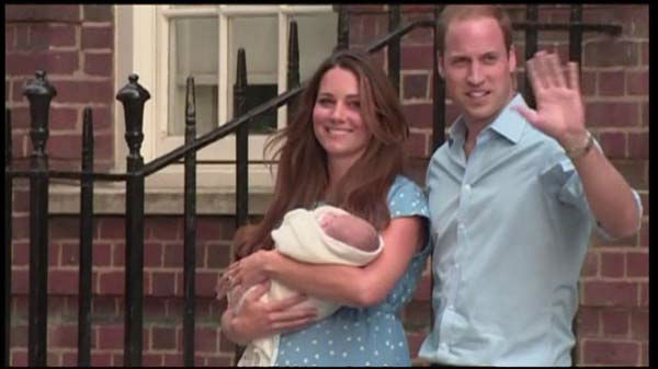 "<div class=""meta ""><span class=""caption-text "">Royal Baby: First baby photos of the royal heir as Kate Middleton and Prince William leave the hospital with their son. (Photo/toshop 3.0)</span></div>"
