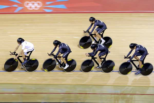 "<div class=""meta ""><span class=""caption-text "">Members of the New Zealand cycling team train ahead of the 2012 Summer Olympics, Friday, July 27, 2012, in London.  (AP Photo/Matt Rourke)</span></div>"