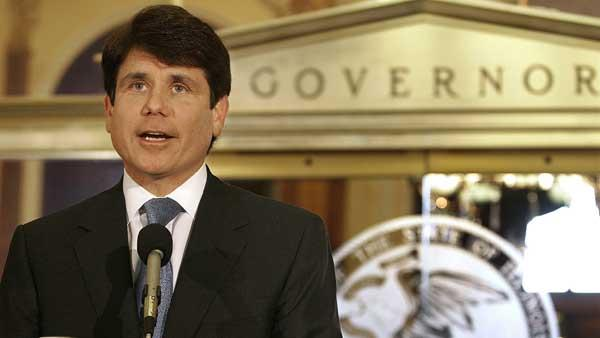 Former Illinois Gov. Rod Blagojevich at the Illinois State Capitol on Wednesday, Nov. 28, 2007. (AP Photo/Seth Perlman)