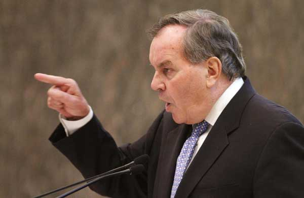 Chicago Mayor Richard M. Daley addresses the City Council meeting Wednesday, Sept. 8, 2010, a day after announcing he would not run for re-election in 2011.   <span class=meta>( AP Photo&#47;M. Spencer Green)</span>
