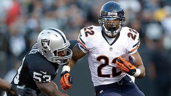 Chicago Bears running back Matt Forte (2