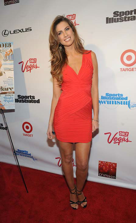 Model Katherine Webb attends the 2013 Sports Illustrated Swimsuit issue launch party at Crimson on Tuesday, Feb. 12, 2013 in New York.&#40;Photo by Brad Barket&#47;Invision&#47;AP&#41; <span class=meta>(AP Photo&#47; Brad Barket)</span>