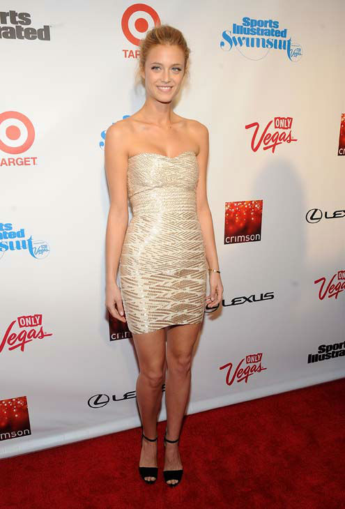 Model Kate Bock attends the 2013 Sports Illustrated Swimsuit issue launch party at Crimson on Tuesday, Feb. 12, 2013 in New York.&#40;Photo by Brad Barket&#47;Invision&#47;AP&#41; <span class=meta>(AP Photo&#47; Brad Barket)</span>