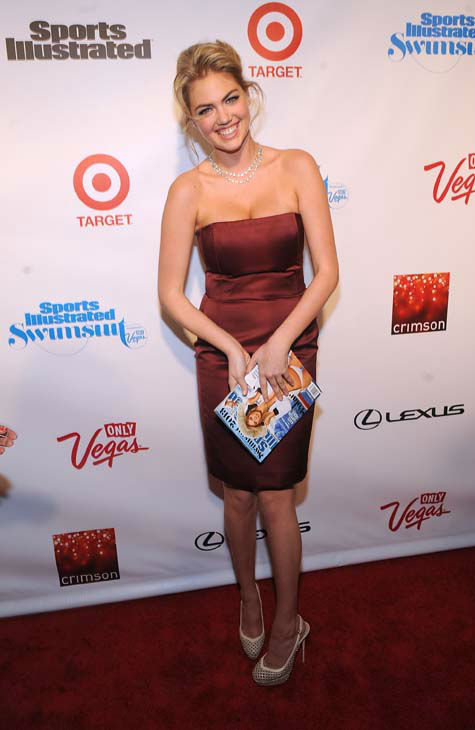 Model Kate Upton attends the 2013 Sports Illustrated Swimsuit issue launch party at Crimson on Tuesday, Feb. 12, 2013 in New York. &#40;Photo by Brad Barket&#47;Invision&#47;AP&#41; <span class=meta>(AP Photo&#47; Brad Barket)</span>