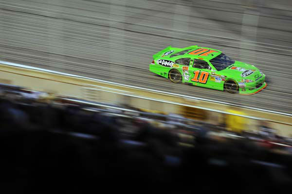 Danica Patrick competes during the NASCAR Sprint Cup Series auto race at Atlanta Motor Speedway, Sunday, Sept. 2, 2012, in Hampton, Ga. &#40;AP Photo&#47;Rainier Ehrhardt&#41; <span class=meta>(AP Photo&#47; Rainier Ehrhardt)</span>
