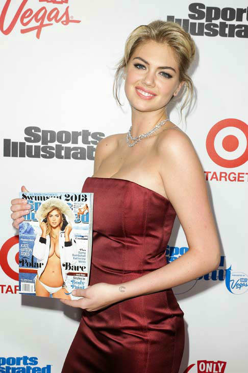 This image released by Starpix shows cover model Kate Upton at the 2013 Sports Illustrated Swimsuit issue launch party at Crimson on Tuesday, Feb. 12, 2013 in New York. &#40;AP Photo&#47;Starpix, Andrew Toth&#41; <span class=meta>(AP Photo&#47; Andrew Toth)</span>