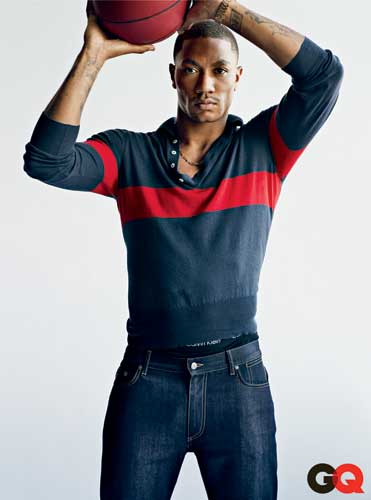 Chicago Bull Derrick Rose is featured in the May issue of GQ magazine. <span class=meta>(Nathaniel Goldberg&#47;GQ)</span>