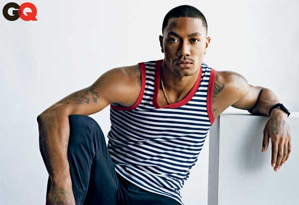 "<div class=""meta ""><span class=""caption-text "">Chicago Bull Derrick Rose is featured in the May issue of GQ magazine. (Nathaniel Goldberg/GQ)</span></div>"