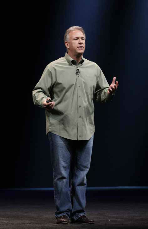 Phil Schiller, Apple&#39;s senior vice president of worldwide marketing, speaks during an Apple event in San Francisco, Wednesday, Sept. 12, 2012. &#40;AP Photo&#47;Jeff Chiu&#41; <span class=meta>(AP Photo&#47; Jeff Chiu)</span>