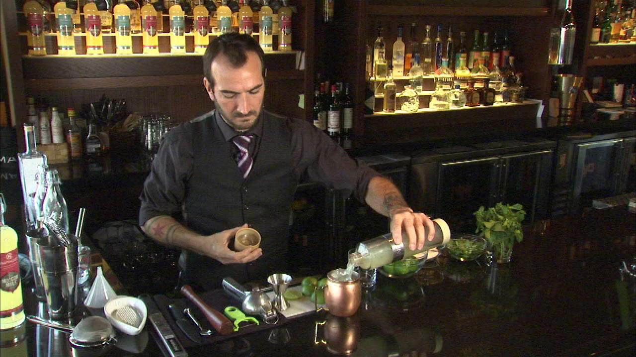 The art of hand-crafting cocktails has taken off around Chicago recently and Charles Joly, one of the citys best bartenders, is now bottling his favorite cocktails, making home entertaining a snap, and all it takes is a glass of ice.