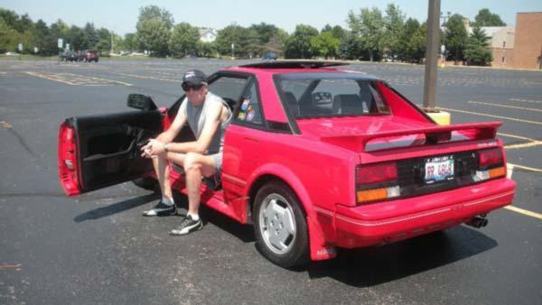 Richard Reuter and his 1986 Toyota MR2