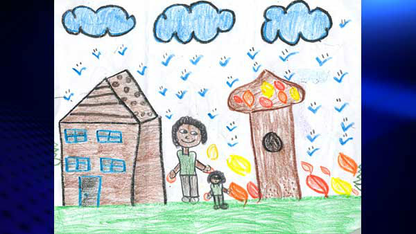 Tracy Butler&#39;s Weather Sketchers: Jayla Barber, Providence Englewood Charter School  <span class=meta>(WLS Photo)</span>