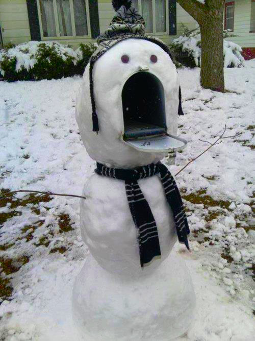 I hope this doesn't scare my mailman! - Mike J